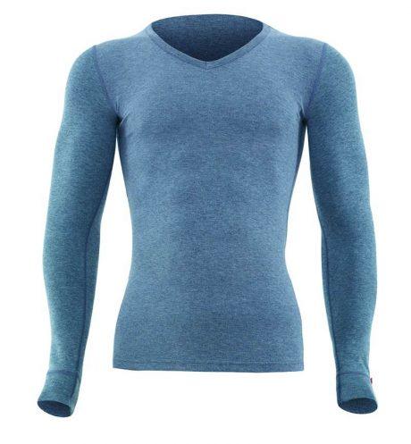 Erkek Termal 2. Seviye T-Shirt 1257 -Gri Melanj